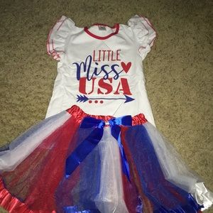 BRAND NEW Americana girls outfit